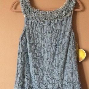 Dresses - Full length baby blue party dress